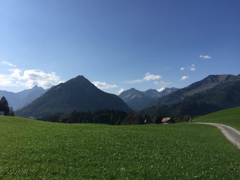 Oberstdorf im Allgäu.