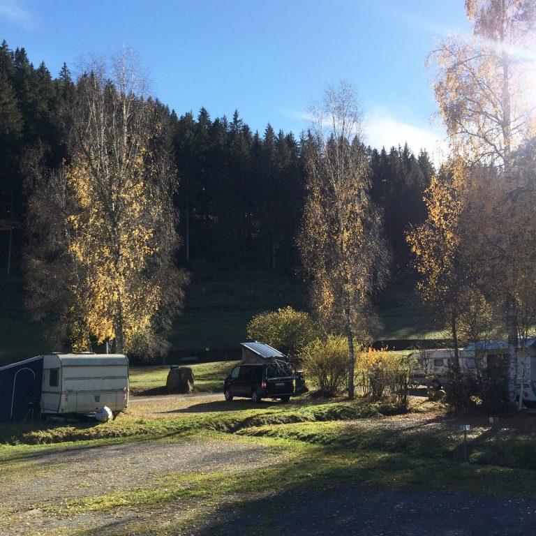 Camping Kälbermühle im Nordschwarzwald.