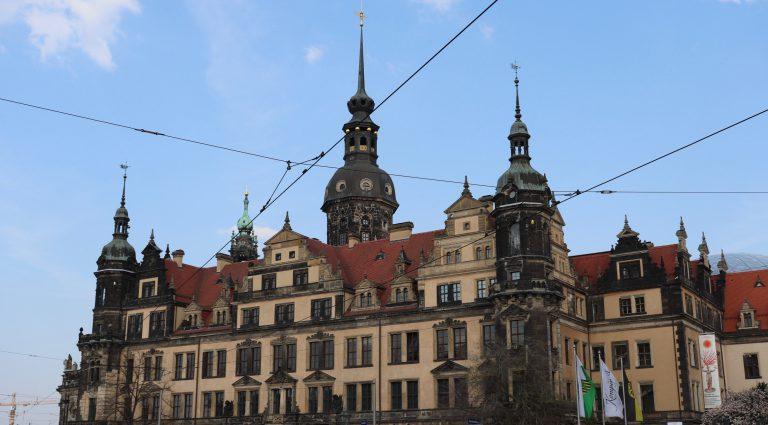 Dresden, Stellplatz sehr zentra.
