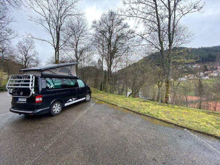 Bad Wildbad im Nordschwarzwald.