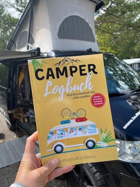 Camper- Logbuch- dein Reisetagebuch zum selbst ausfüllen.