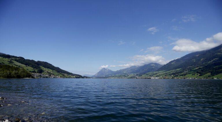 SarnerSee in der Schweiz