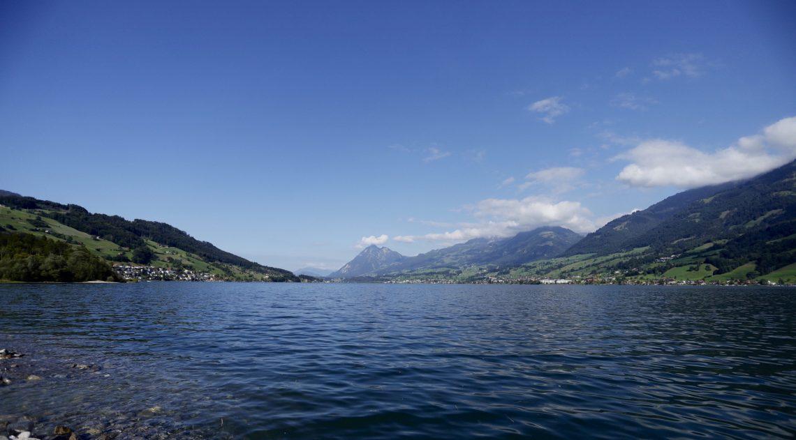 Beitragsbild: Sarner See in der Schweiz